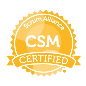 Certified Scrum Master der Scrum Alliance